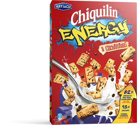 Pack of Chiquilín Energy Cereals