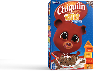 Pack of Chiquilín Mini Bears Choco