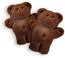 Cookie of Chiquilín Mini Bears Choco