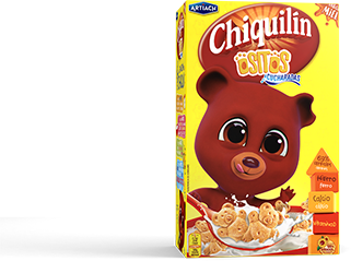 Pack of Chiquilín Mini Bears Honey