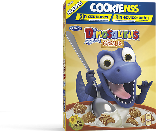 Pack of Dinosaurus Cookienss Cereals