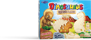 Pack de Dinosaurus Chocoblanco