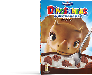 Pack of Dinosaurus Cocoa Cereals