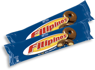 Pack de Filipinos Chocolate de leite