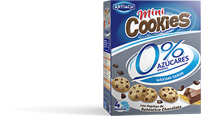 Pack of Mini Cookies 0%
